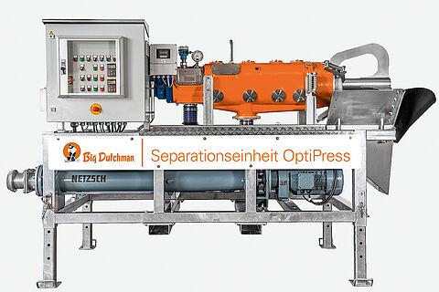 OptiPress screw press separator